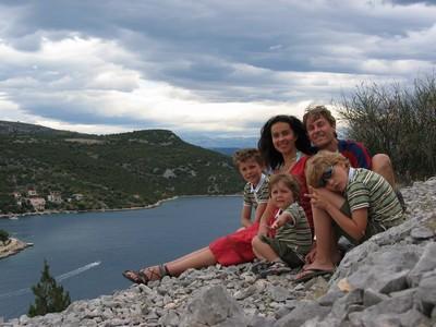 Mauvais temps en Croatie