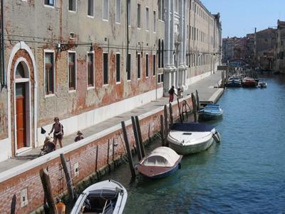 Une rue dans le Venise moins touristique