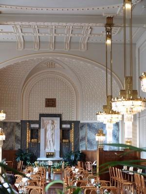 Intérieur restaurant Art Déco